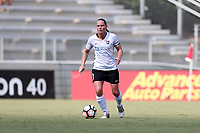 Cary, North Carolina  - Saturday July 01, 2017: Christie Pearce during a regular season National Women's Soccer League (NWSL) match between the North Carolina Courage and the Sky Blue FC at Sahlen's Stadium at WakeMed Soccer Park. Sky Blue FC won the game 1-0.