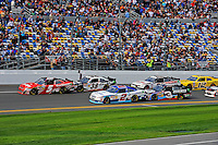 Dale Earnhardt, Jr. (#5), Kasey Kahne (#38), Elliott Sadler (#2), Austin Dillon (#3), Brad Keselowski (#22), Sam Hornish, Jr. (#12)