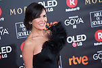 Elena Sanchez attends red carpet of Goya Cinema Awards 2018 at Madrid Marriott Auditorium in Madrid , Spain. February 03, 2018. (ALTERPHOTOS/Borja B.Hojas)