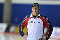 SPEED SKATING: CALGARY: Olympic Oval, 08-03-2015, ISU World Championships Allround, Coach Jillert Anema, ©foto Martin de Jong