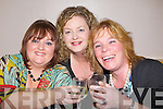 MEAL; Paula Mulvihill and Theresa Diggin (Causeway) and Anita Bodenham (Ardfert) who enjoyed their Womens Christmas meal in Harty's Bar & Restaurant, Causeway on Friday night...