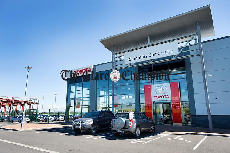 Cummins Car Centre, Ballymaley, Ennis. Photograph by John Kelly.