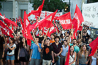 Antarsya Election rally. Athens 11-6-12 Rally by the leftist anti capitalist coalition.