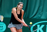 Wateringen, The Netherlands, March 16, 2018,  De Rhijenhof , NOJK 14/18 years, Nat. Junior Tennis Champ.  Kim Hansen (NED)<br />  Photo: www.tennisimages.com/Henk Koster