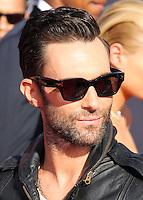 LOS ANGELES, CA, USA - AUGUST 24: Adam Levine at the 2014 MTV Video Music Awards held at The Forum on August 24, 2014 in the Los Angeles, California, United States. (Photo by Xavier Collin/Celebrity Monitor)