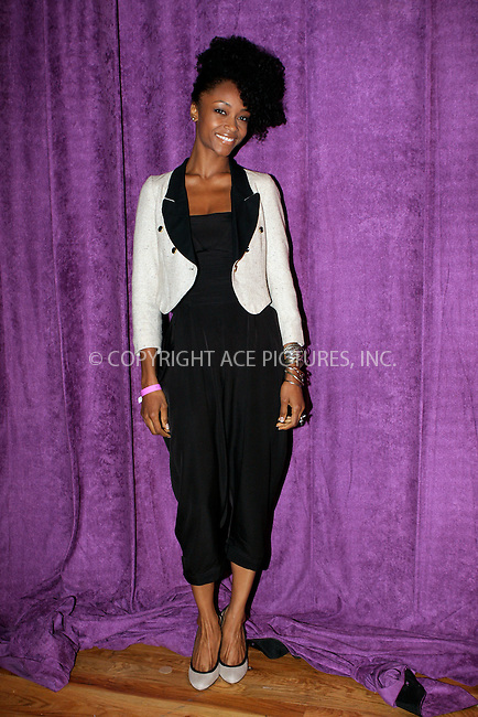 WWW.ACEPIXS.COM . . . . .  ....September 19 2011, New York City....Model Yaya DaCosta at the WIE symposium in Soho on September 19 2011 in New York City....Please byline: NANCY RIVERA- ACEPIXS.COM.... *** ***..Ace Pictures, Inc:  ..Tel: 646 769 0430..e-mail: info@acepixs.com..web: http://www.acepixs.com