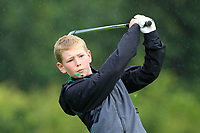 Colin Higgins (Athenry) on the 1st tee during the Connacht U12, U14, U16, U18 Close Finals 2019 in Mountbellew Golf Club, Mountbellew, Co. Galway on Monday 12th August 2019.<br /> <br /> Picture:  Thos Caffrey / www.golffile.ie<br /> <br /> All photos usage must carry mandatory copyright credit (© Golffile | Thos Caffrey)