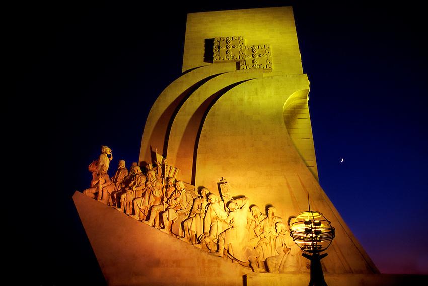 Padrao dos Descobrimentos (Monument to the Discoverers), Belem, Lisbon, Portugal