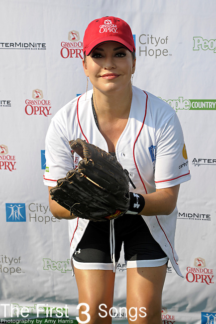 Robin Meade attends the 21st annual City of Hope Celebrity Softball Challenge, on Saturday, June 11, at Greer Stadium in Nashville, TN during the 2011 CMA Music Festival.