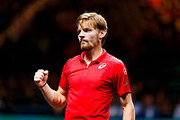 Rotterdam, The Netherlands, 12 Februari 2020, ABNAMRO World Tennis Tournament, Ahoy. David Goffin (BEL).<br /> Photo: www.tennisimages.com
