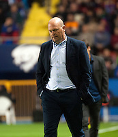 Real Betis Balompie's Coach Pepe Mel during La Liga match. November 27, 2015. (ALTERPHOTOS/Javier Comos)