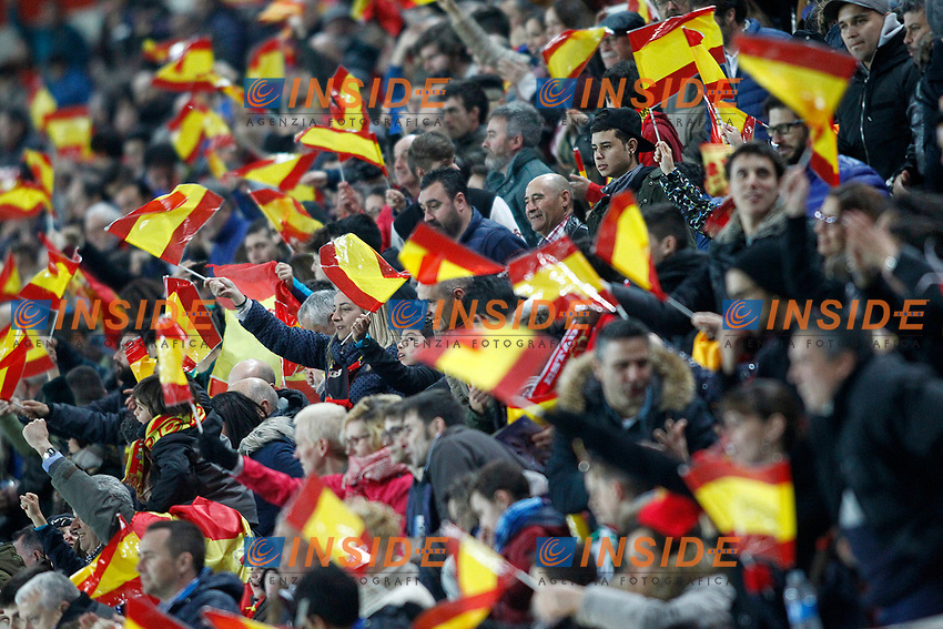 Spain's supporters during FIFA World Cup 2018 Qualifying Round match. <br /> Gijon 24-03-2017 Stadio El Molinon <br /> Qualificazioni Mondiali <br /> Spagna - Israele <br /> Foto Acero/Alterphotos/Insidefoto <br /> ITALY ONLY