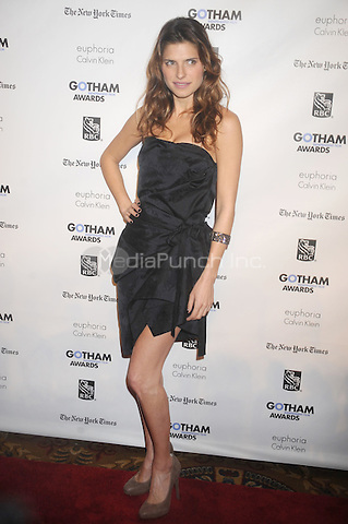 Lake Bell at the IFP 21st annual Gotham Independent Film awards at Cipriani, Wall Street on November 28, 2011 in New York City.  © mpi01 / MediaPunch Inc.