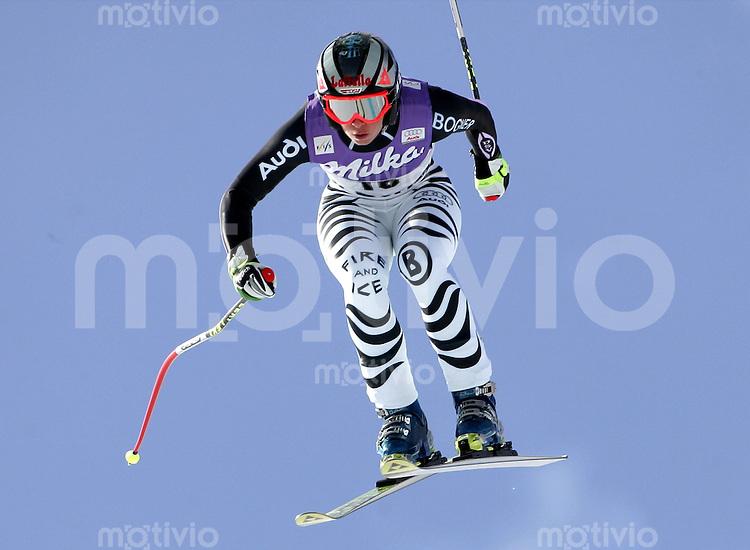 Ski Alpin; Saison 2005/2006 Abfahrt Damen St. Moritz Petra Haltmayr (GER)