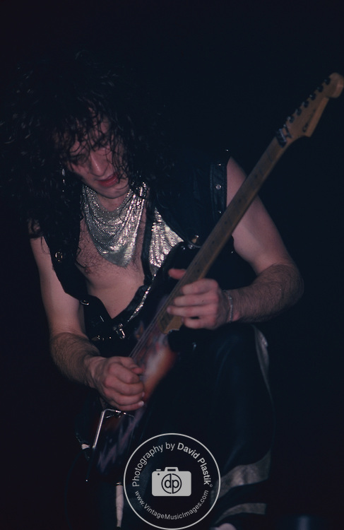 Vivian Campell appearing with Dio at Brendon Byrne Arena Nov 1984
