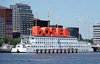 Nederland - Amsterdam - 2020.   Nieuwbouw bij de NDSM Werf. Het Botel. Foto Berlinda van Dam / Hollandse Hoogte.