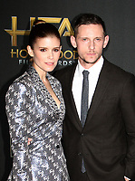 BEVERLY HILLS, CA - NOVEMBER 5: Jamie Bell, Kate Mara, at The 21st Annual Hollywood Film Awards at the The Beverly Hilton Hotel in Beverly Hills, California on November 5, 2017. Credit: Faye Sadou/MediaPunch