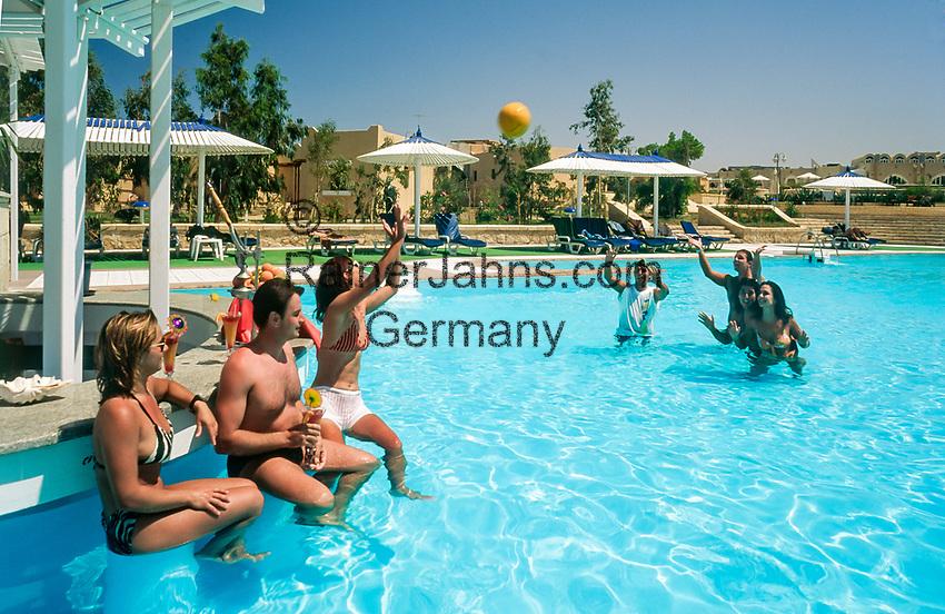 Aegypten, Hurghada: Coral Beach Hotel, Pool | Egypt, Hurghada: Coral Beach Hotel, Pool