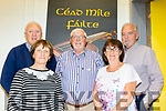 Pictured last Saturday Sept 21st are the committe members of the  brand new Comhaltas Dúchas building located in the grounds of Tralee IT North Campus, which will officially open on October 2nd next,L-R Tadhg Creedon, Geraldine Guilfoyle,John Canty, Margaret Creedon and Karl Bulman.