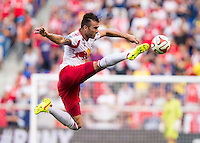 Harrison, NJ - July 26, 2014: The New York Red Bulls defeated Arsenal 1-0 during an international friendly at Red Bull Arena.