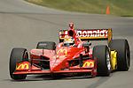 19 July 2008: Justin WIlson (XEN) at the Honda Indy 200 IndyCar race at the Mid-Ohio Sports Car Course, Lexington, Ohio, USA.