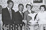 Wedding Day : Eddie & Christina Joyce, Gornaskeha, Ballybunion pictured on their wedding day 50 years age with best man Christy Moloney & bridesmaid Eileen O'Rourke.