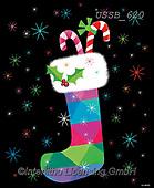 Sarah, CHRISTMAS SYMBOLS, WEIHNACHTEN SYMBOLE, NAVIDAD SÍMBOLOS, paintings+++++Stocking-18-B,USSB620,#xx#