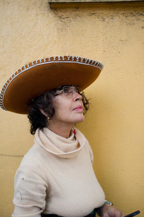 Woman in the Escandon.  Mexico City