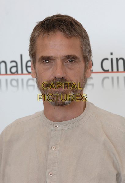 "JEREMY IRONS.photocall for ""Casanova"".La Biennale, Venezia.62nd Venice Film Festival, Italy.3 September 2005.Ref: PL.headshot portrait beard facial hair.www.capitalpictures.com.sales@capitalpictures.com.©Capital Pictures."