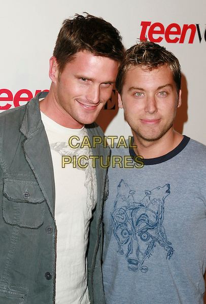 LEMKUHL REICHEN & LANCE BASS.Teen Vogue Young Hollywood Issue Party held at Sunset Tower Hotel, West Hollywood, California, USA..September 20th, 2006.Ref: ADM/CH.headshot portrait .www.capitalpictures.com.sales@capitalpictures.com.©AdMedia/Capital Pictures.