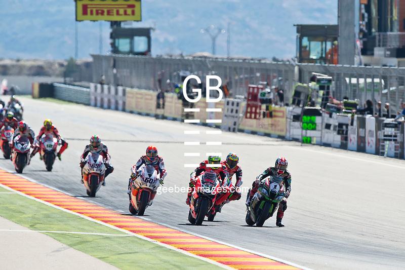 2016 FIM Superbike World Championship, Round 03, Motorland Aragon, Spain, 1-3 April 2016, Jonathan Rea, Kawasaki