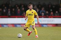 Fleetwood Town's Lewis Coyle<br /> <br /> Photographer Rob Newell/CameraSport<br /> <br /> Emirates FA Cup Second Round - Crawley Town v Fleetwood Town - Sunday 1st December 2019 - Broadfield Stadium - Crawley<br />  <br /> World Copyright © 2019 CameraSport. All rights reserved. 43 Linden Ave. Countesthorpe. Leicester. England. LE8 5PG - Tel: +44 (0) 116 277 4147 - admin@camerasport.com - www.camerasport.com