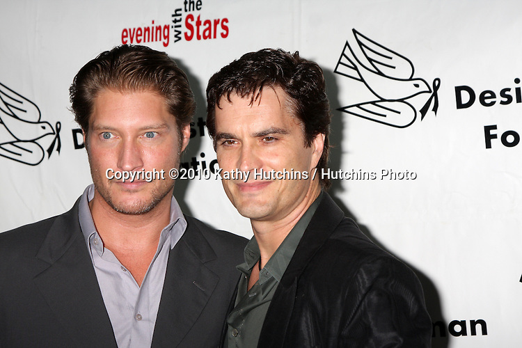 "LOS ANGELES - OCT 9:  Sean Kanan, Rick Hearst arrives at the ""Evening WIth the Stars 2010"" benefit for the Desi Geestman Foundation at Farmer's Market.Theatre on October 9, 2010 in Los Angeles, CA"