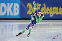 SPEED SKATING: STAVANGER: Sørmarka Arena, 31-01-2016, ISU World Cup, 1000m Ladies Division A, Marrit Leenstra (NED), ©photo Martin de Jong