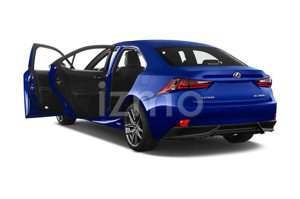 Car images of a 2015 Lexus IS F SPORT LINE 4 Door Sedan Doors