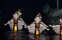 Wassermarionetten-Theater in Hanoi, Vietnam