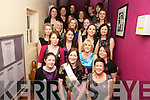 Sinead Ambrose, Kilgarvan, pictured with family and friends at her hen night in the Silver Fox restaurant, Killarney, on Saturday night ahead of her wedding to Dan Healy, Kilgarvan on March 26th.