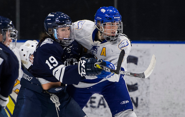 VANCOUVER,BC:JANUARY 11, 2017 -- UBC Thunderbirds Mt Royal University Cougars during U Sports Canada West action at UBC in Vancouver, BC, February, 11, 2017. (Rich Lam/UBC Athletics Photo) <br /> <br /> ***MANDATORY CREDIT***