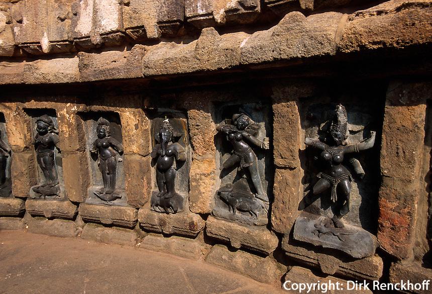 tantrischer Tempel Yogiri,  Hirapur bei Bhubaneswar, Orissa, Indien