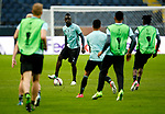 Davinson Sanchez of Ajax trains ahead of the UEFA Europa League Final at the Friends Arena, Stockholm. Picture date: May 23rd, 2017. Pic credit should read: Matt McNulty/Sportimage