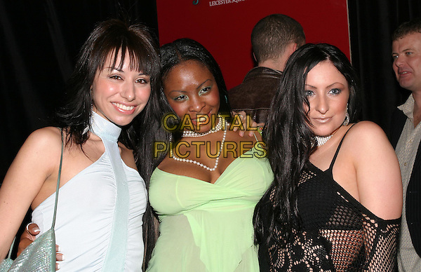 "3 GIRLS - doing Euro 2004 song.London's Hippodrome nightclub re-opens its doors as ""Cirque"" with a star studded party.01 April 2004.www.capitalpictures.com.sales@capitalpictures.com.© Capital Pictures."