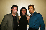 All My Children - Vincent Irizarry - Kelly O'Malley Mattone (Cosmetic Physician) - John Basedow author of Fitness Made Simple) at a benefit for American Lung Association on December 6, 2009 at Mezza on the Green at the Lawrence Country Club. (Photos by Sue Coflin/Max Photos)
