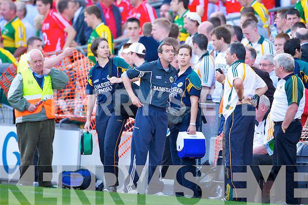 Pat O'Shea (Manager), Kerry v Cork, GAA Football All-Ireland Senior Championship Semi-Final, Croke Park, Dublin. 24th August 2008   Copyright Kerry's Eye 2008