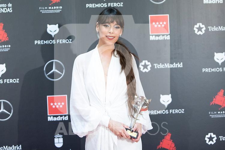 MADRID, SPAIN - JANUARY 16: Actress Belen Cuesta attends Feroz awards 2020 red carpet at Teatro Auditorio Ciudad de Alcobendas on January 16, 2020 in Madrid, Spain.<br /> (David Jar / Alterphotos)