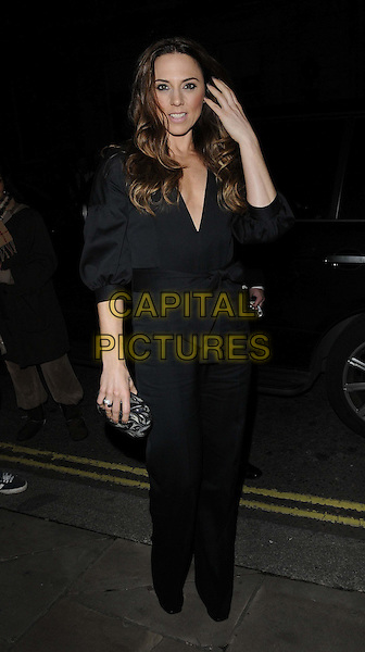 Mel C - Melanie Chisholm.The George Michael special concert, Royal Opera House, Covent Garden, London, England..November 6th, 2011.full length black jacket trousers wrap belted bow hand arm.CAP/CAN.©Can Nguyen/Capital Pictures.