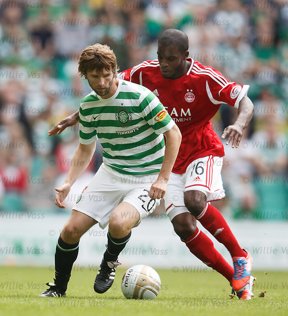Paddy McCourt and Isaac Osbourne