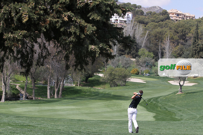 Andrea Pavan (ITA) on the 10th on Day 3 of the 2012 Open de Andalucia Costa del Sol at Aloha Golf Club, Marbella, Spain...(Photo Jenny Matthews/www.golffile.ie)
