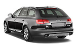 Rear three quarter view of a 2006 - 2011 Audi A6 ALLROAD QUATTRO Avus 5-Door Wagon 4WD
