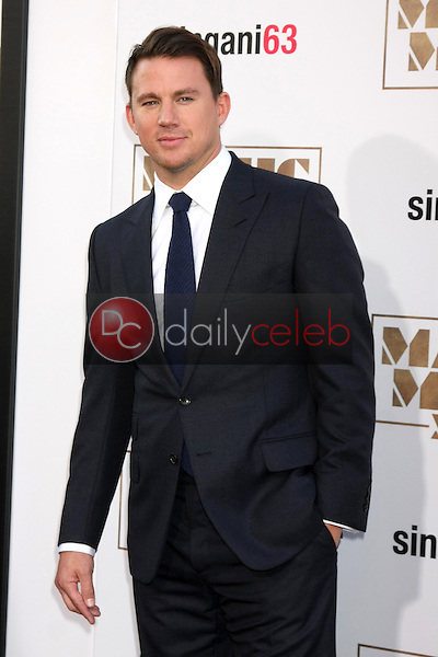 """Channing Tatum <br /> at the """"Magic Mike XXL"""" Premiere, TCL Chinese Theater, Hollywood, CA 06-25-15<br /> David Edwards/DailyCeleb.com 818-249-4998"""