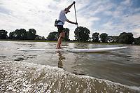 Rhein Challenge - 777 km Stand Up Paddleboarding - Frank Theelen